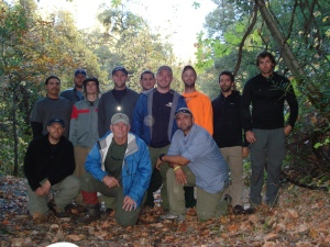 Wildland Firefighters on our week-long expedition