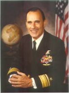 Radm Dick Lyon in 1976