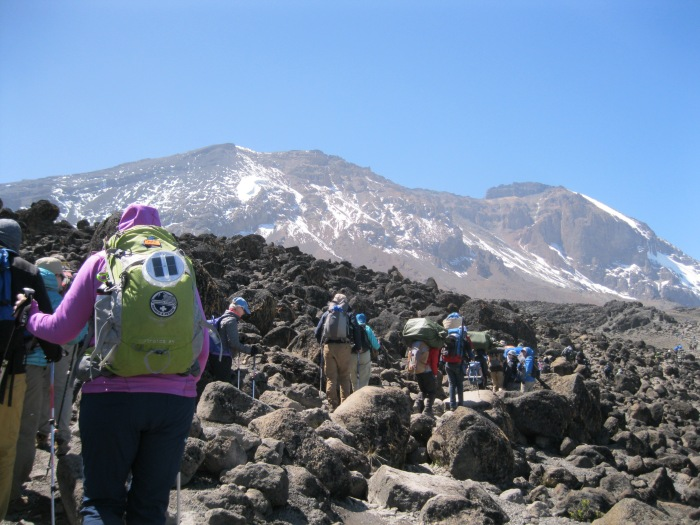 hiking thru lava fields 4